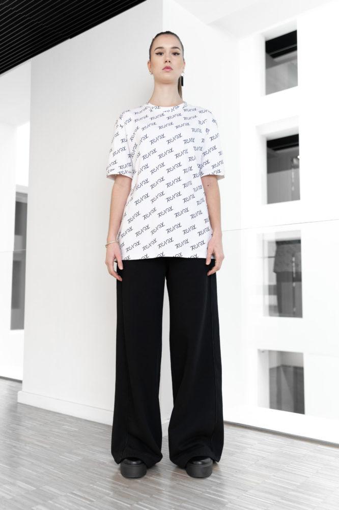 t shirt coton bio imprimé logo
